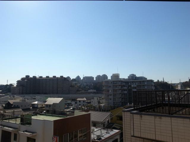 5階だから、眺望は抜群なんです!