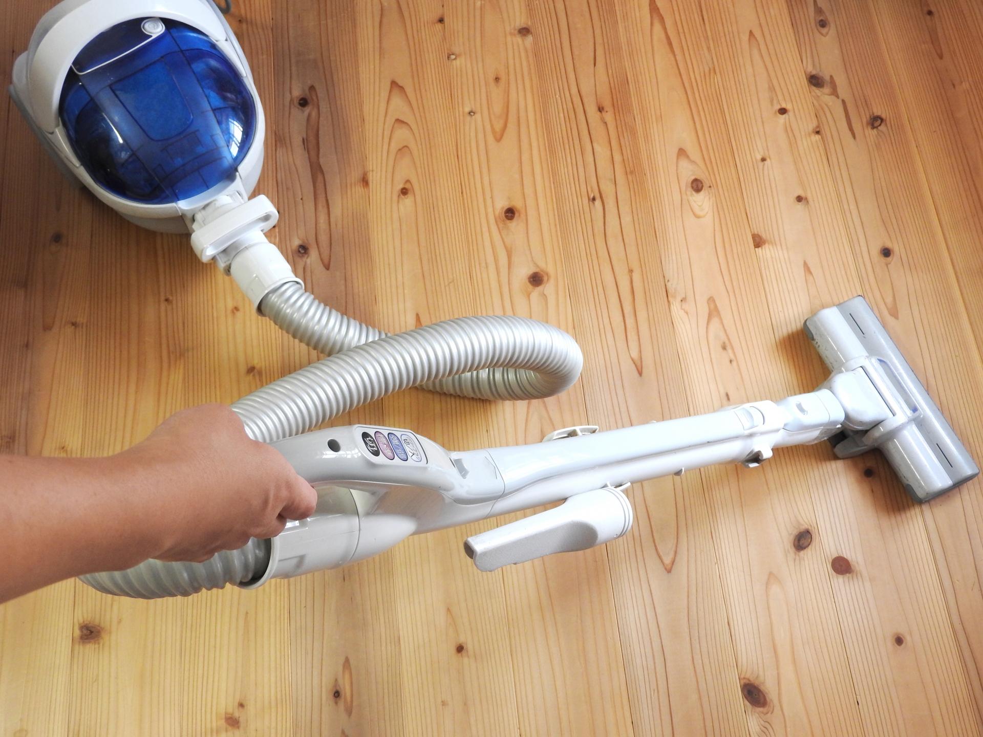 無垢床の掃除方法