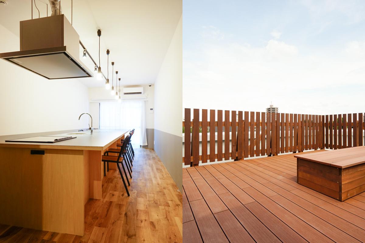 シンプルなデザインでリノベーション|建物全体で価値をアップ