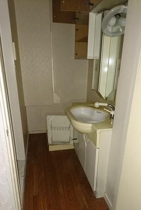 リノベーション前の洗面台