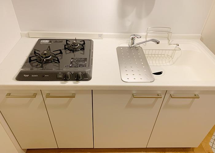 リノベーション後のキッチンです