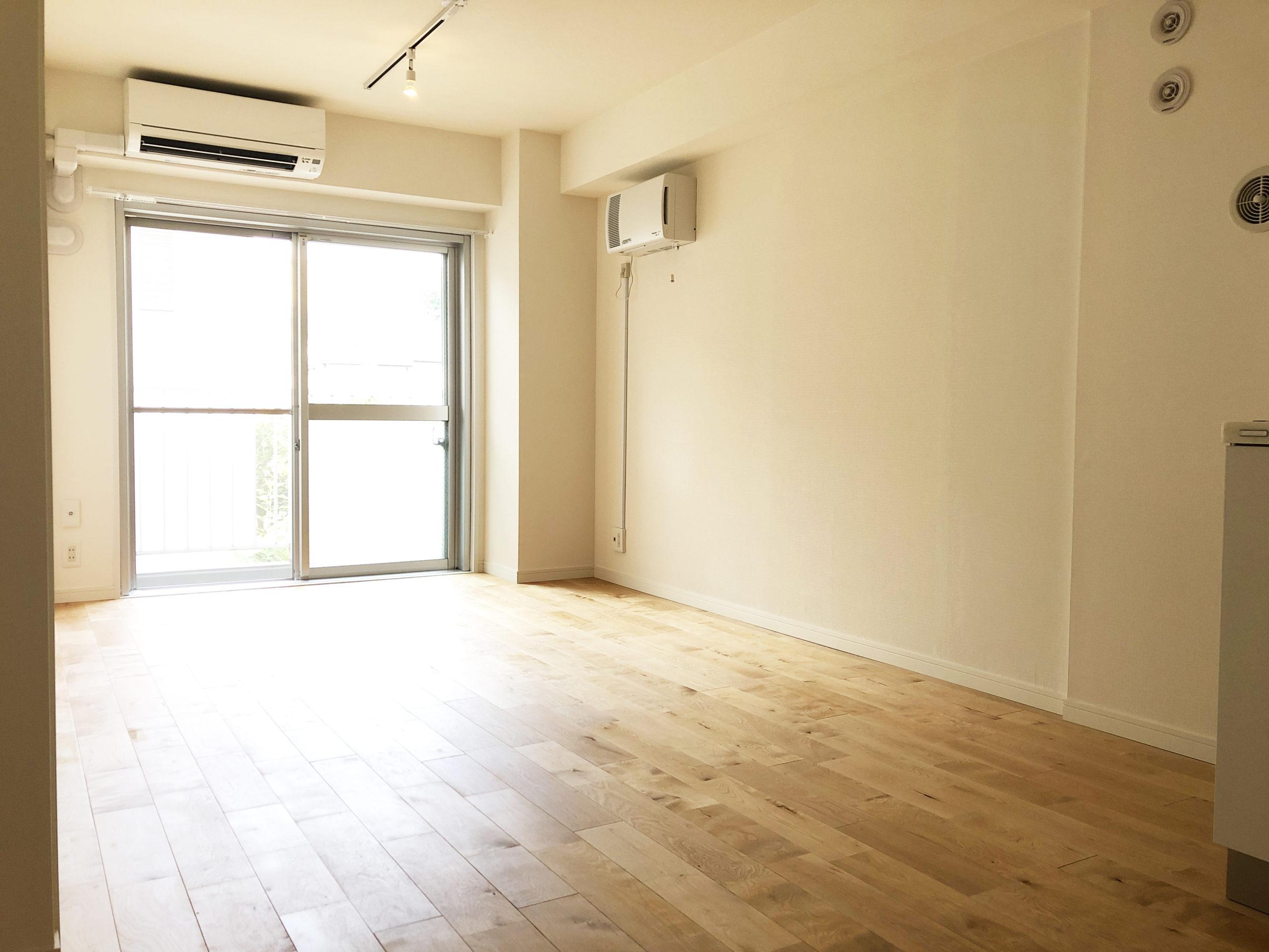 リノベーション後の居室です