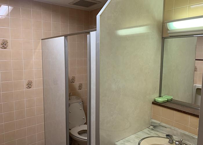 リノベーション前のトイレです