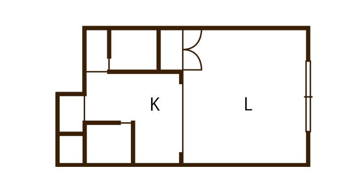 1Kのお部屋の長期空室の原因とは?
