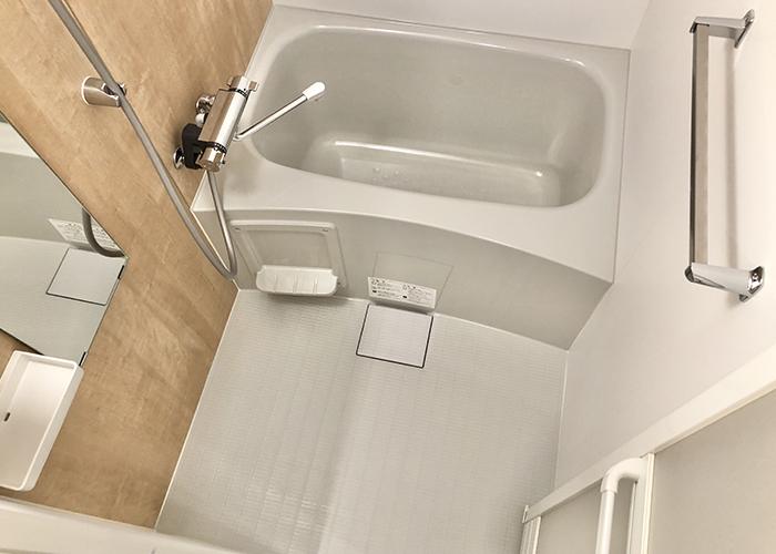 リノベーション後の浴室です