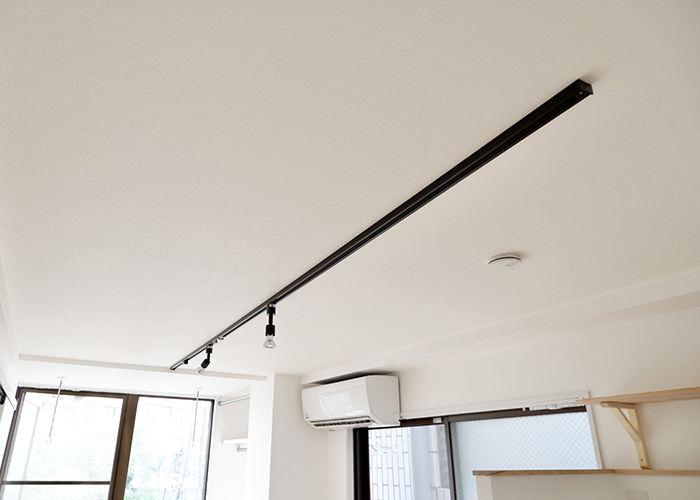 リノベーション後の天井です