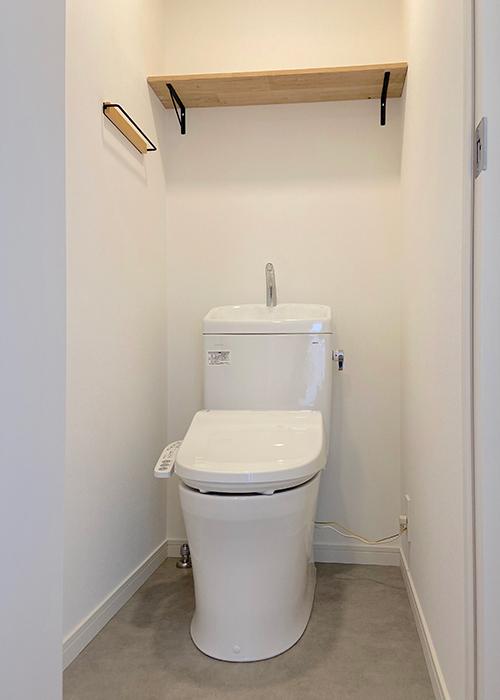 リノベーション後のトイレです