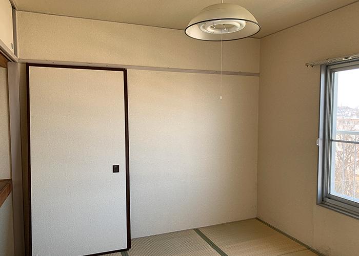リノベーション前の居室です